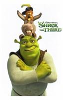 Shrek the Third Main Characters Fine-Art Print