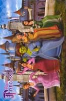 Shrek the Third Ladies Dancing Fine-Art Print