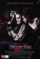 Sweeney Todd Never Forget Never Forgive Fine-Art Print