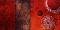 Red Spirals I Fine-Art Print
