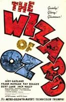 The Wizard of Oz Text Fine-Art Print
