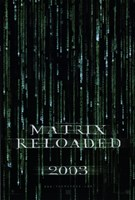 The Matrix Reloaded Logo Fine-Art Print