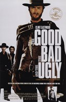 The Good, The Bad, and the Ugly Clint Eastwood Fine-Art Print
