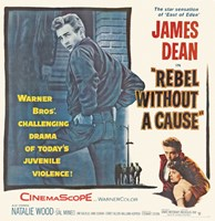 Rebel Without a Cause The Star Sensation Fine-Art Print