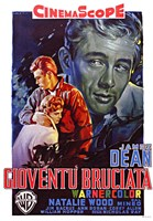 Rebel Without a Cause Film Poster Italian Fine-Art Print