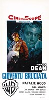 Rebel Without a Cause Natalie Wood Italian Fine-Art Print