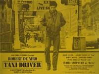Taxi Driver Yellow Horizontal Fine-Art Print