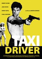 Taxi Driver Black and Yellow Fine-Art Print