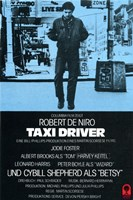 Taxi Driver Blue Fine-Art Print