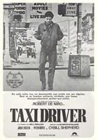 Taxi Driver Gray Fine-Art Print