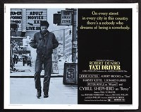 Taxi Driver Light Blue Horizontal Fine-Art Print