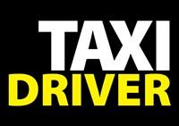 Taxi Driver Text Fine-Art Print