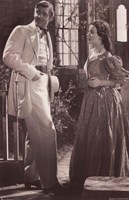 Gone With The Wind - Clark Gable & Vivien Leigh Scene Fine-Art Print