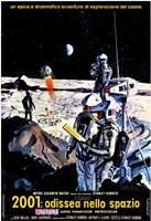 2001: A Space Odyssey Moon Landing Fine-Art Print