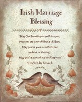 Irish Marriage Blessing Fine-Art Print