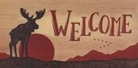 Moose Welcome Fine-Art Print