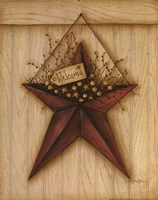 Welcome Barn Star Fine-Art Print