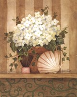 Hydrangea and Shell Fine-Art Print