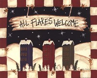 All Flakes Welcome Fine-Art Print
