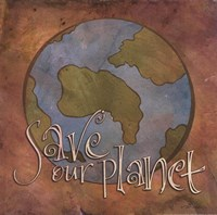 Save Our Planet Fine-Art Print