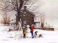 The Joy of Snow Fine-Art Print