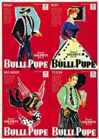 Guys and Dolls Bulli e Pupe 4 Shots Fine-Art Print