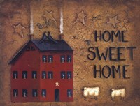 Saltbox Home Sweet Home Fine-Art Print