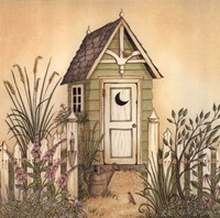 Cottage Outhouse II Fine-Art Print