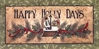Happy Holly Days Fine-Art Print