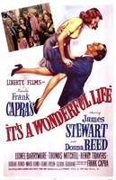 It's A Wonderful Life Frank Capra - scene Fine-Art Print