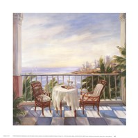Terrace View 1 Fine-Art Print