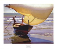 Fishing Boat, Spain Fine-Art Print
