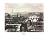 River Seine and the City of Paris Fine-Art Print