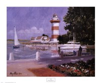 Morning at Harbour Town Fine-Art Print