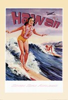 Fly to Hawaii Fine-Art Print