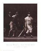 Roger Maris - 61st Home Run Fine-Art Print