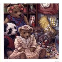 Buttons N' Bears Fine-Art Print