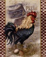 True Blue Rooster Fine-Art Print