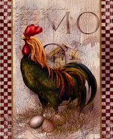 Green Pastures Rooster Fine-Art Print