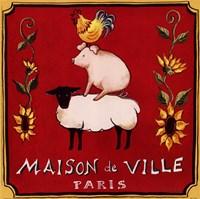 Maison De Ville Fine-Art Print
