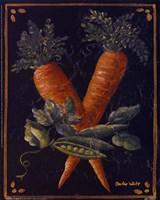 Vegetable on Black II Fine-Art Print