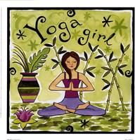 Yoga Girl Fine-Art Print