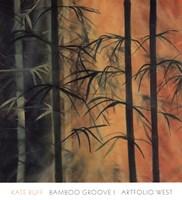 Bamboo Groove I Fine-Art Print
