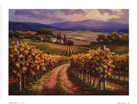 Vineyard Hill I Fine-Art Print