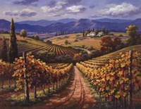 Vineyard Hill II Fine-Art Print