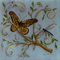 Butterfly Turquoise Fine-Art Print