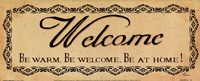 Vintage Welcome Fine-Art Print
