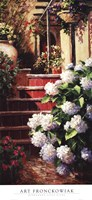 Hydrangea Steps Right Fine-Art Print