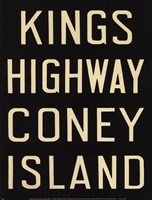Kings Hwy/Coney Island Fine-Art Print