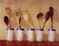 Kitchen Tools Fine-Art Print